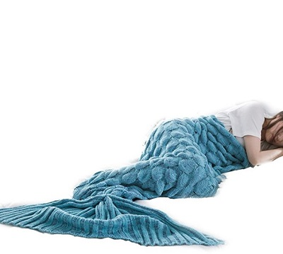 mermaid tail blanket for boyfriend's mother