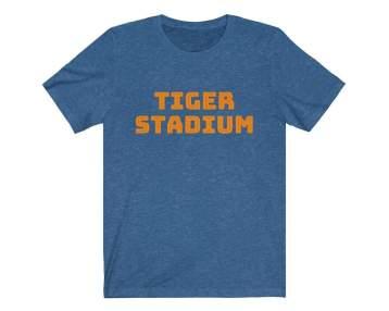 UpNorth Tee - Tiger Stadium (Michigan Vintage Collection) - Detroit Michigan T-Shirt