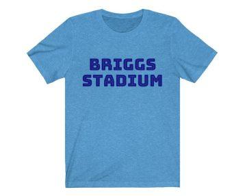 UpNorth Tee - Briggs Stadium - Tiger Stadium Shirt - Free Shipping
