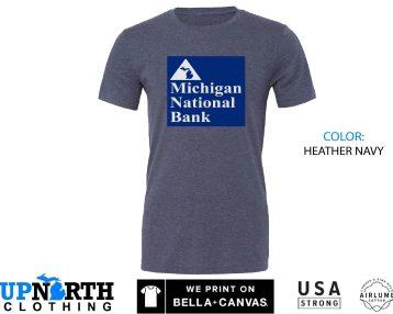 UpNorth Tee - Michigan National Bank (Standard Print) Michigan Nostalgia Shirt
