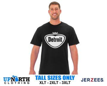 UpNorth Tee - Detroit Pop Style Logo - Faygo Style Detroit Logo - Free Shipping