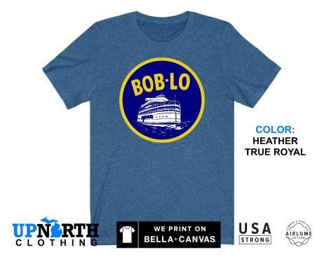 UpNorth Tee - Boblo Boat - Bob-Lo Boat - Detroit Michigan Shirt - Free Shipping