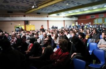 Beaucoup de monde pour Franck Lepage