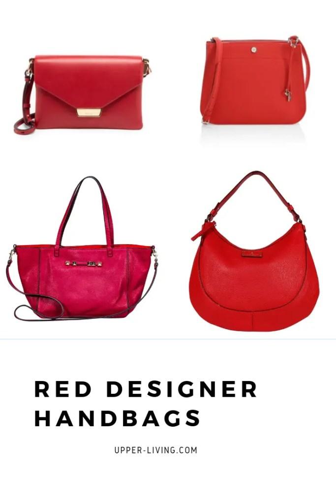 Red Designer Handbags from Dolce & Gabbana, Prada, Kate Spade, Valentino