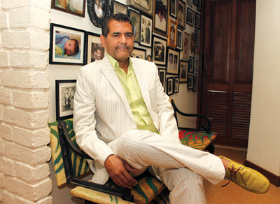 A D Singh, the most stylish restauranteur, brings a decidedly stylish edge to his plate of food