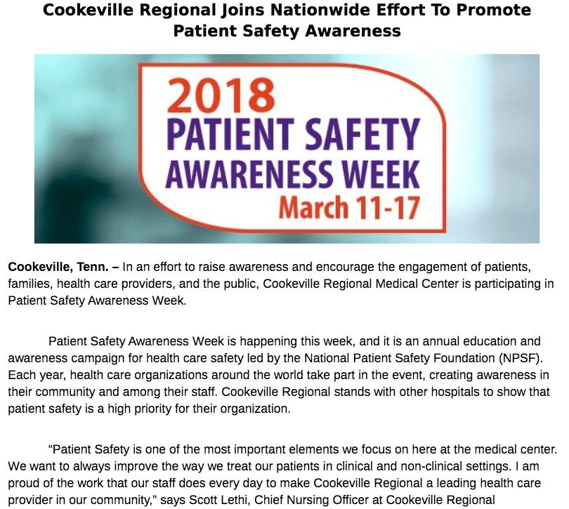 Ways Promote Safety Awareness