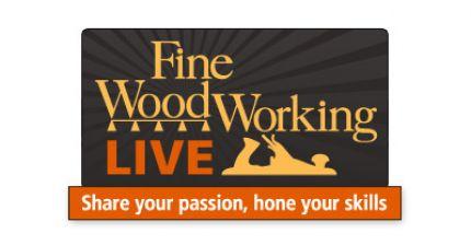 Fine Woodworking Live Logo