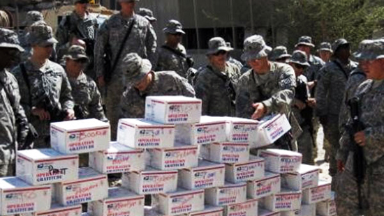 In Honor Of Veterans Day Upper Deck Donates To Soldiers