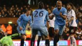 Kompany and the men in blue from Manchester were joyous in their win over Fulham.