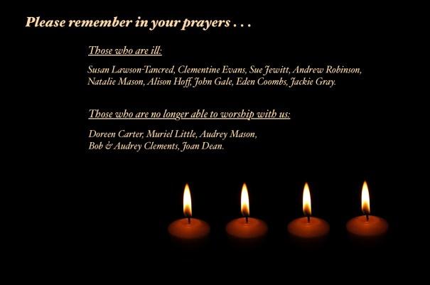 20160828 Let us pray . . .