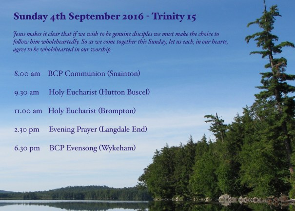 20160904 Call to worship