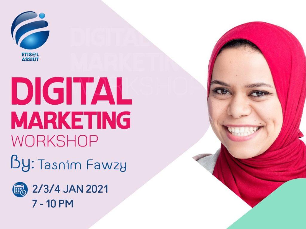 Digital Marketing Online workshop