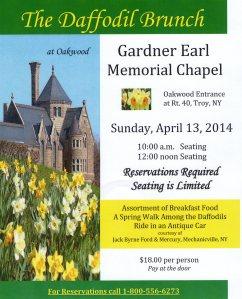 The Daffodil Brunch at Gardner Earl Memorial Chapel