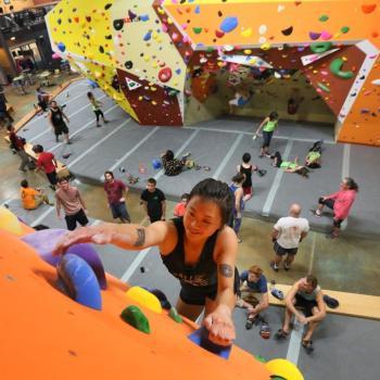 upper limits chesterfield rock climbing gym 3