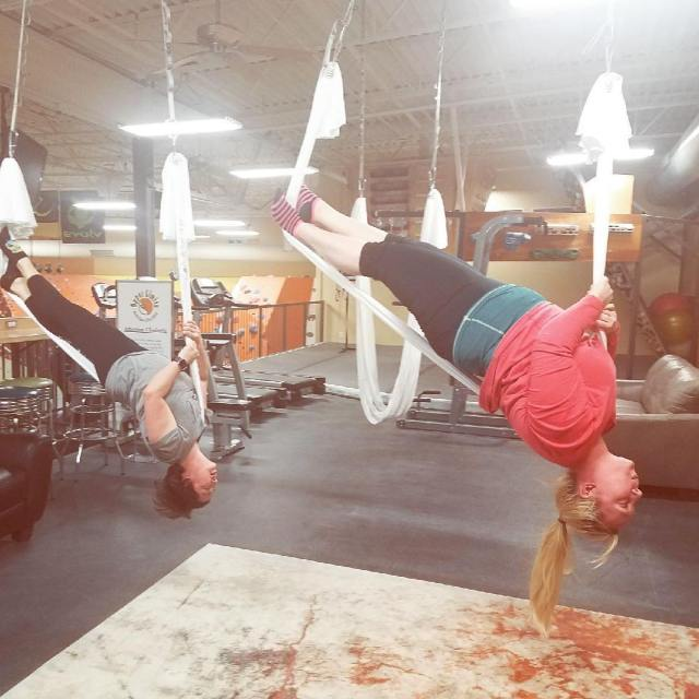 AntiGravity Fitness classes have begun at our Chesterfield location Askhellip