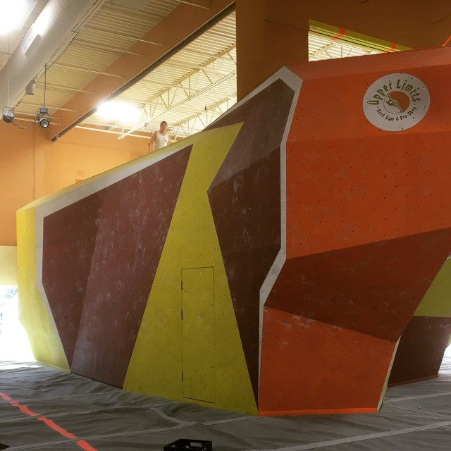 Getting geared up for the Gateway Boulder Bash! Wacky Wallshellip