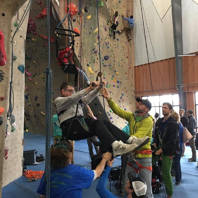 Are you interested in helping out with adaptiveclimbing events athellip
