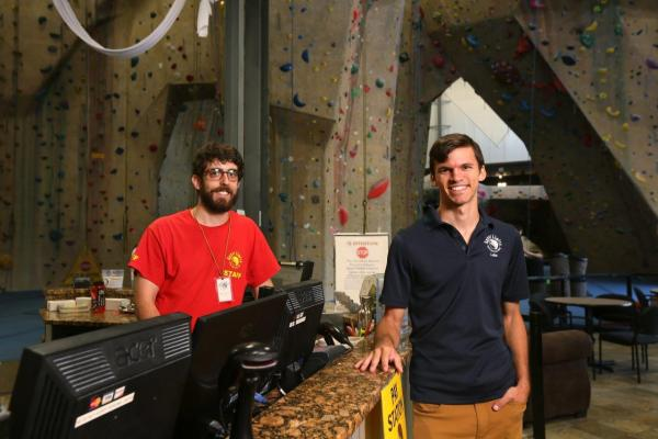 best staff at upper limits indoor rock climbing gym st. louis