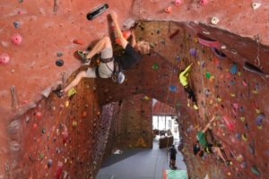 lead climbing upper limits downtown st. louis best indoor rock climbing gym exercise
