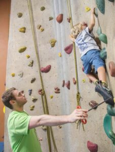 youth instruction camp clinic best indoor rock climbing gym upper limits st. louis