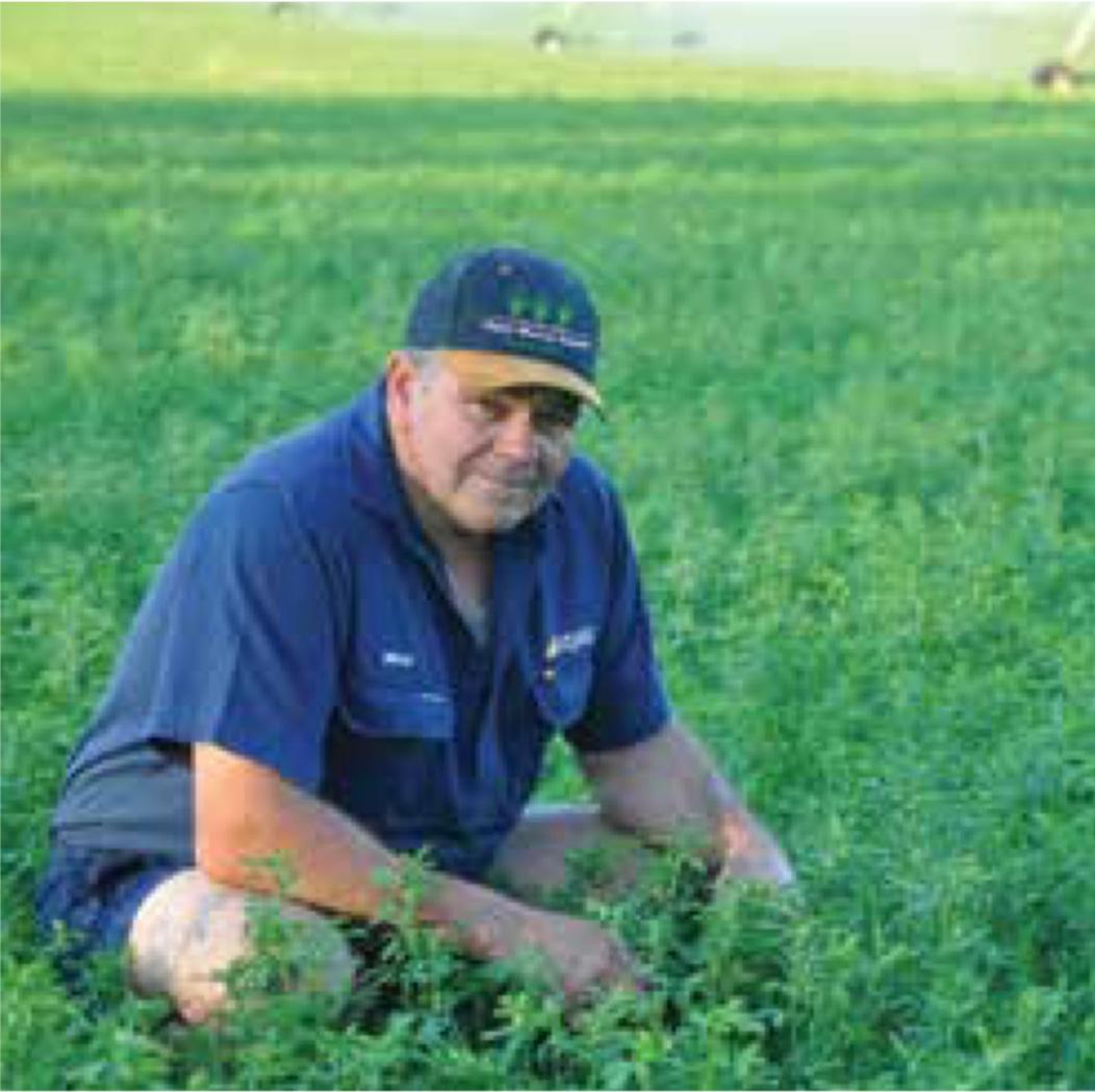 Brad Forsyth Kneeling in Grass