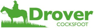 Drover Cocksfoot Logo with man on a horse