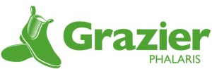 Grazier Phalaris Logo with a pair of boots