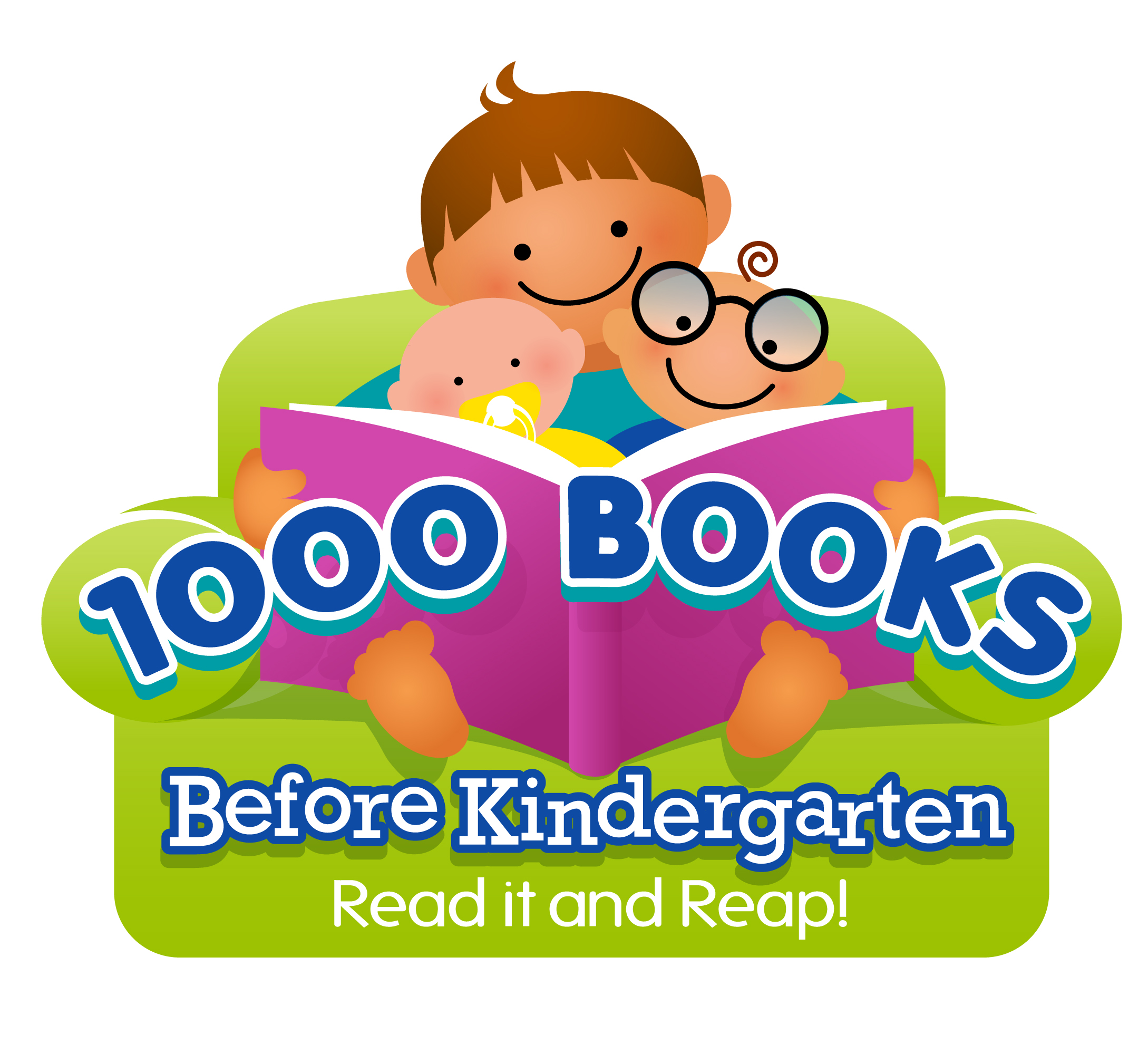Image result for 1000 books before kindergarten