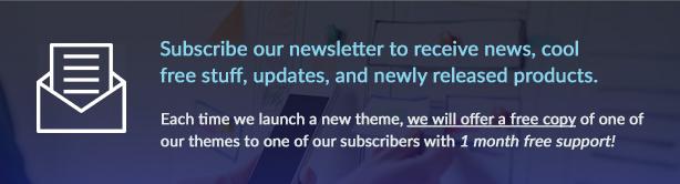 Abonnez-vous Newsletter supérieure