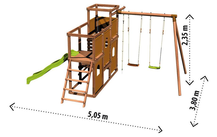 Jeux Exterieur Bois Trendy Jeux Exterieur Jardin