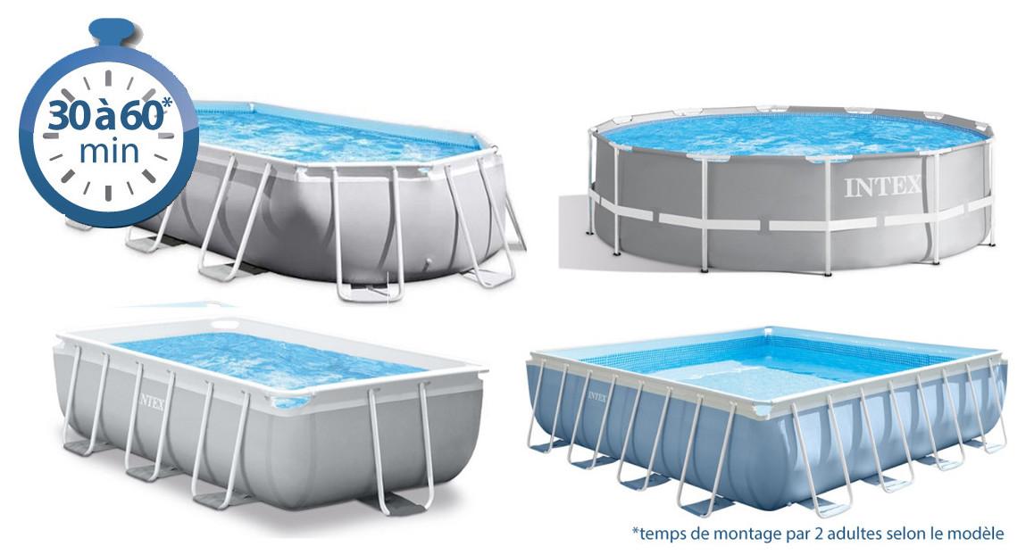 366cm x 122cm intex prism frame piscine