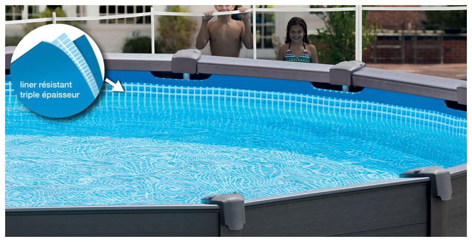 piscine hors sol intex graphite