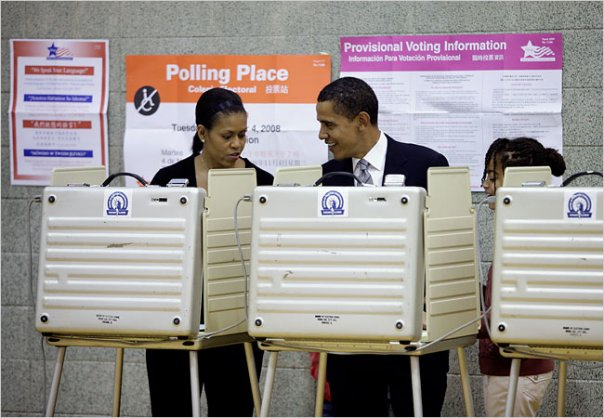barack-and-michelle-voting