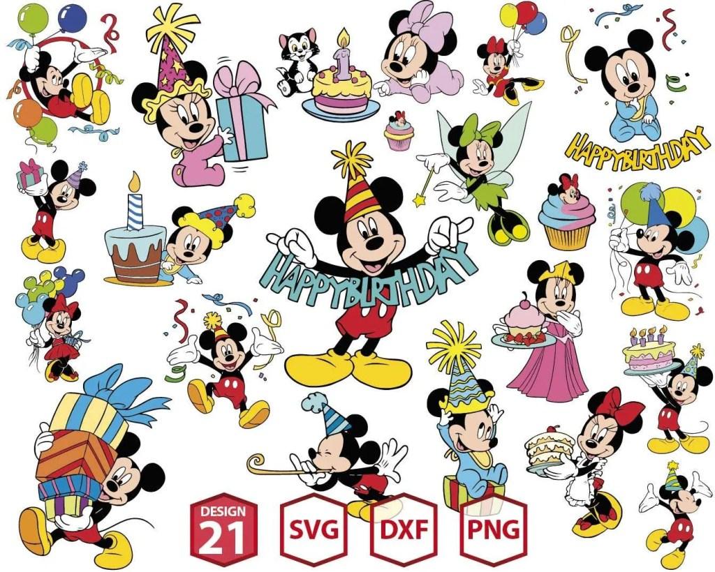 Disney Birthday MEGA-03