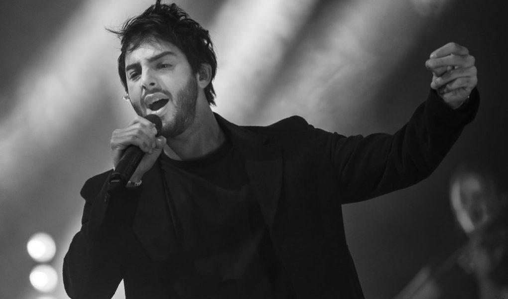 Darin under sin konsert på UKK Fotograf Sebastian Lindberg