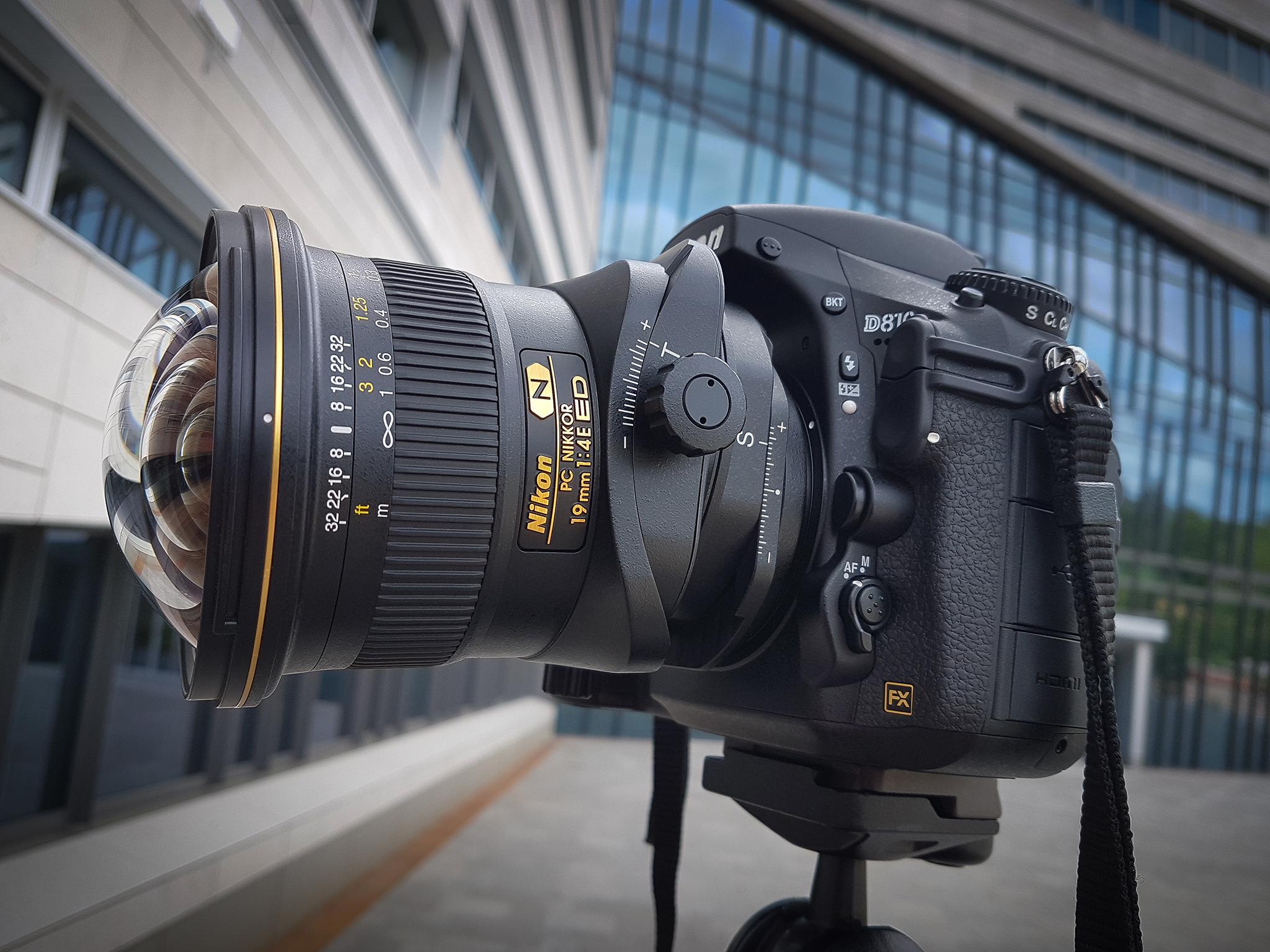 Nikon PC Nikkor 19mm /f4 E ED