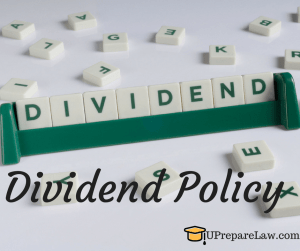 Dividend Policy Complete notes pdf