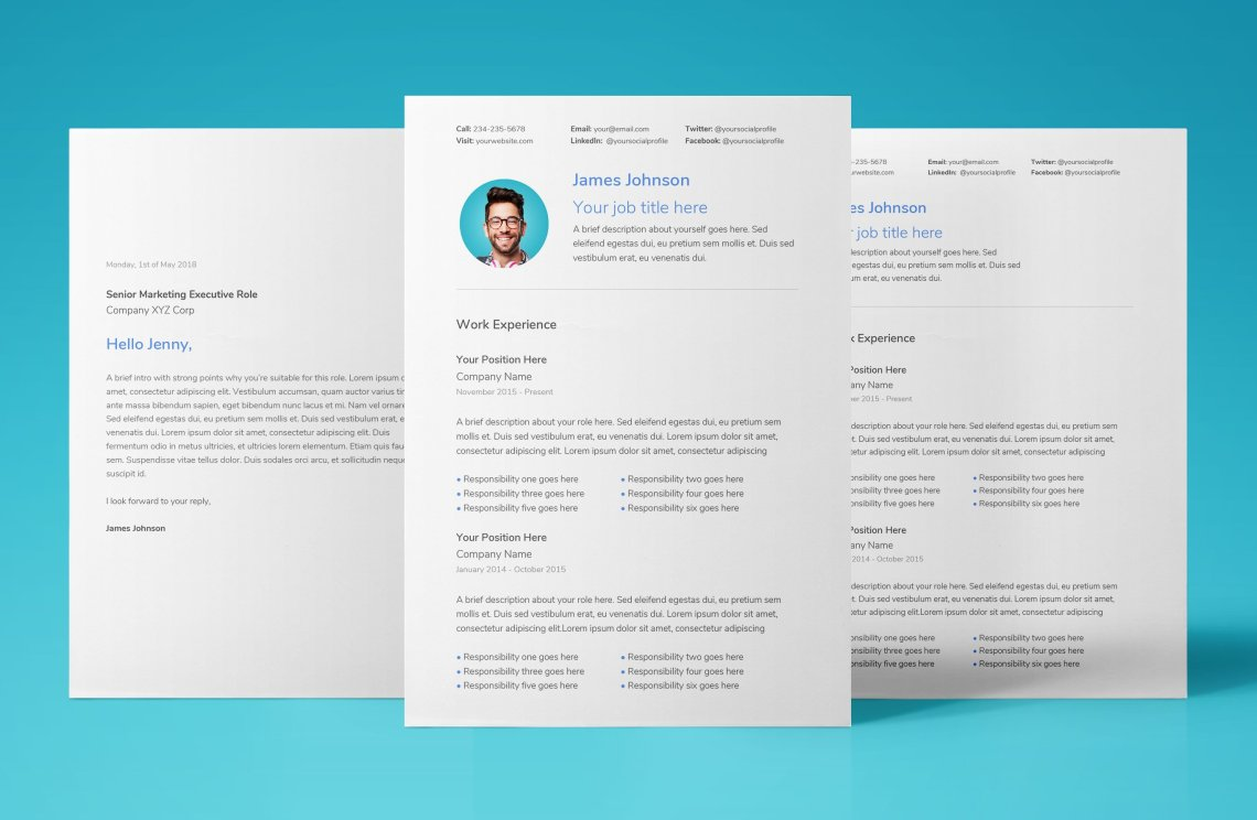 simple resume template download google docs 01