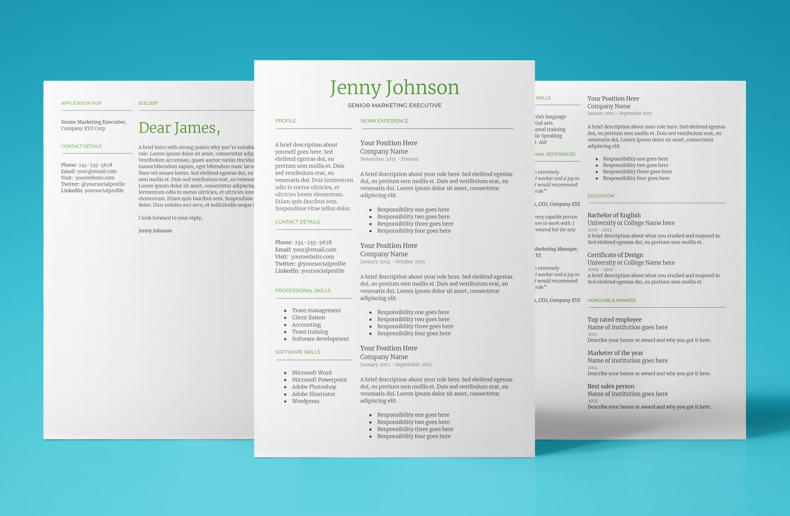 Resume Template For Google Docs Create Your Cv In Minutes 2019