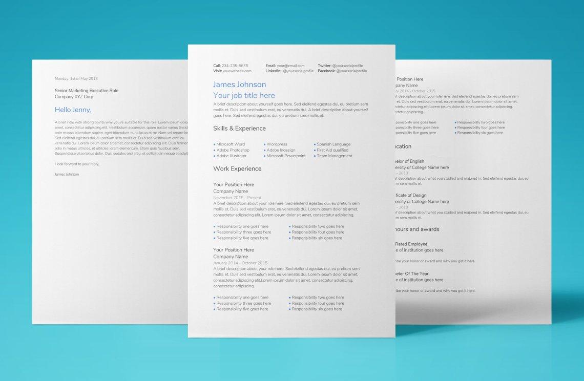 google document resume template