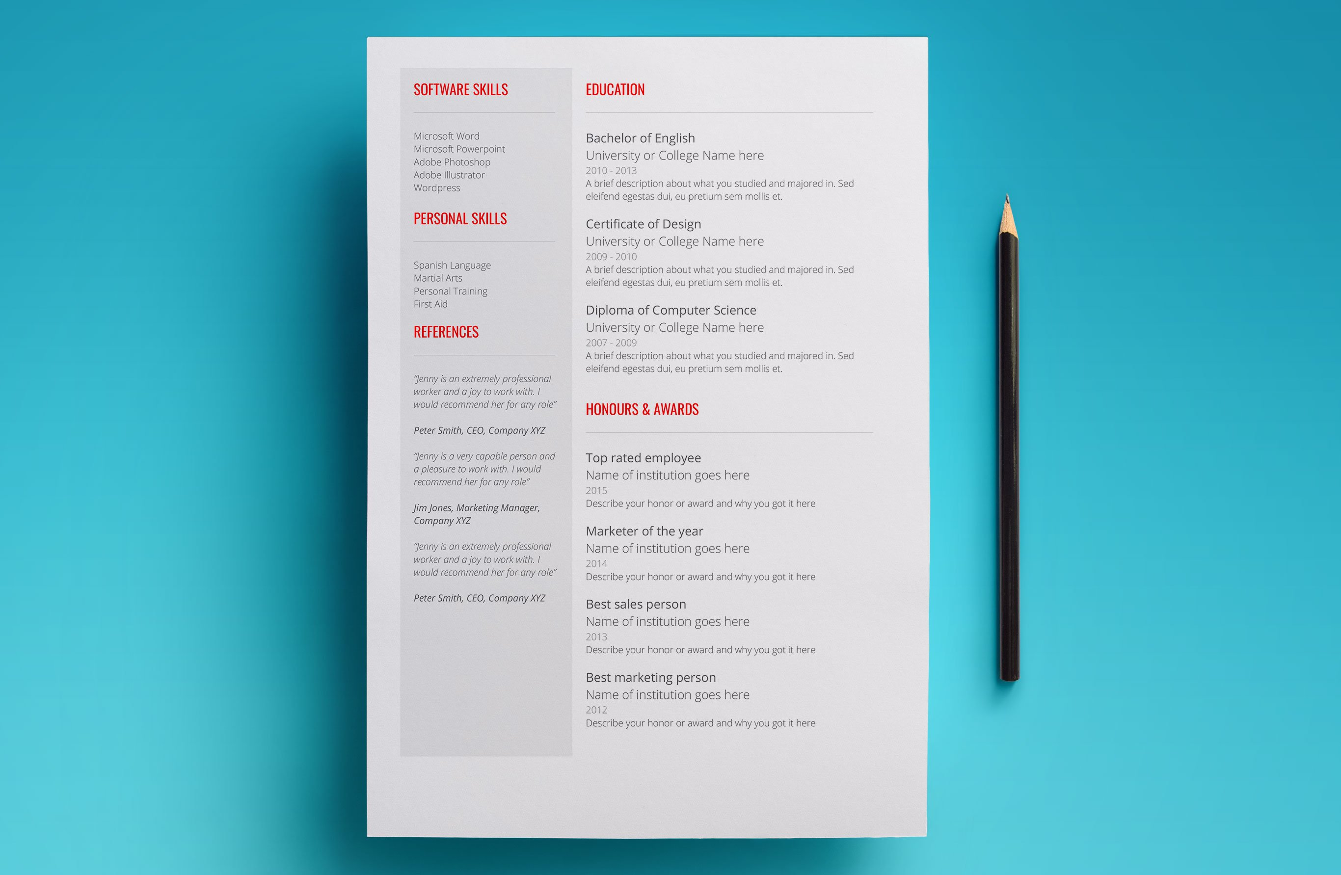 One Of The Best Google Doc Resume Template On The Market. This Resume  Template Is Bold, Ambitious And Optimistic. Download Venus And Create Your  Winning ...  Resume Google Docs