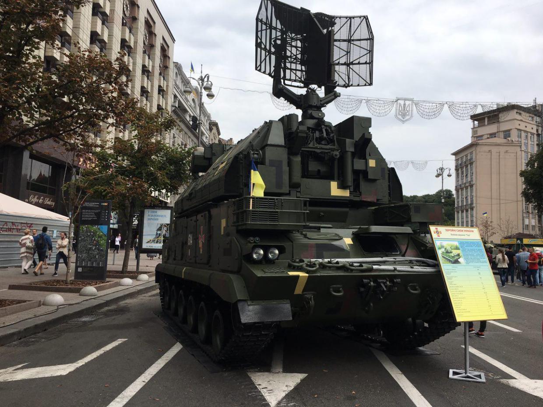 В сторону оккупированной Горловки запустили 10-метровый украинский флаг, - ООС - Цензор.НЕТ 7758
