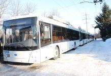 У Кропивницькому з'явилися гібридні тролейбуси