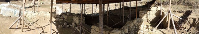 Inside the dig site