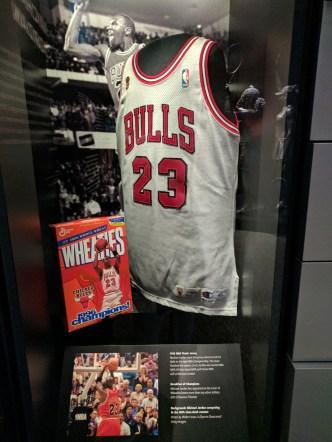 Michael Jordan's jersey