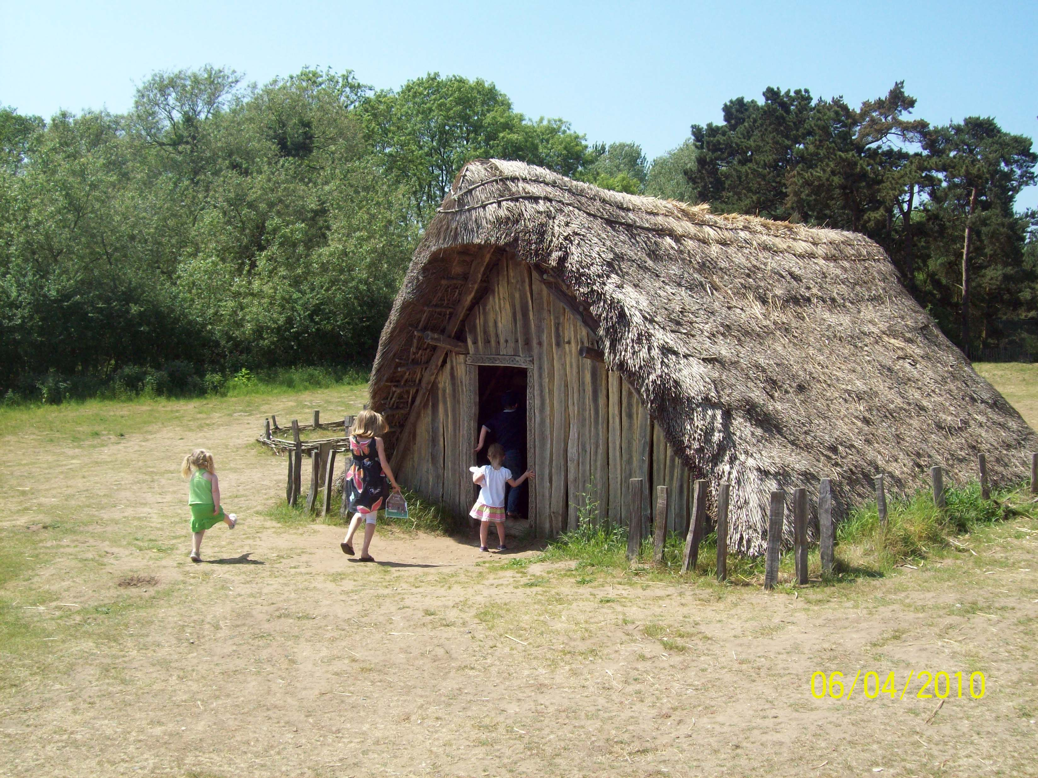 June 4th West Stow Anglo Saxon Village The Uprooted Roses