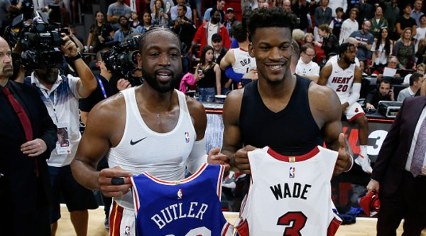 Dwyane Wade Helped Sell Jimmy Butler On The Heat By Saying