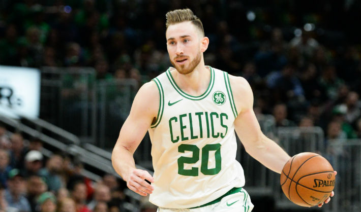 Gordon Hayward Fractured His Left Hand Against The Spurs