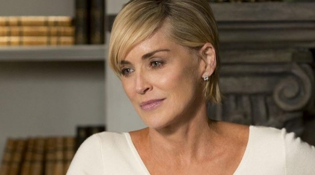 Sharon Stone Wore A Gladiator Prop And Fans Think Shes An MF Doom Fan