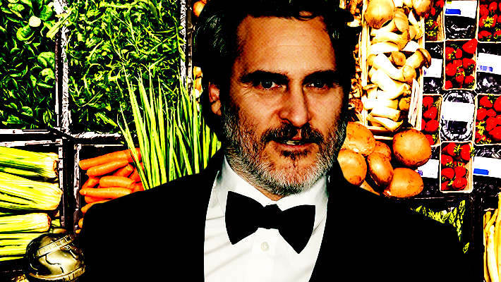 Joaquin Phoenix Made A Very Cogent Case For Plant-Based Foods At The Golden Globes